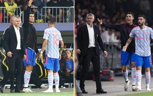 Tranh việc chỉ đạo của HLV Solskjaer, Ronaldo bị huyền thoại M.U chỉ trích