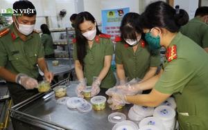 Bếp ăn Đoàn thanh niên công an Đồng Nai, ấm lòng trong đại dịch