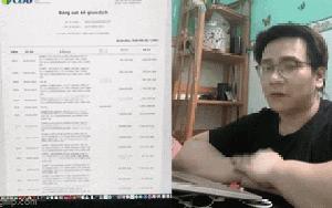 """Clip nóng: Nhâm Hoàng Khang đăng video khẳng định """"Sao kê này nó chỉ là trò hề thôi!"""""""