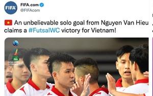 Vượt qua Panama, ĐT futsal Việt Nam được FIFA và AFC khen hết lời