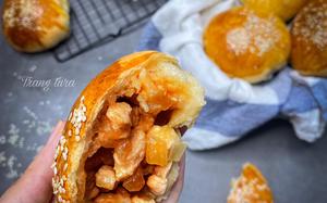 Đổi món bữa sáng với bánh mì nhân ức gà thơm phức, đánh thức vị giác