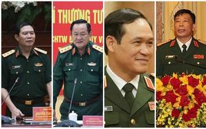 Chân dung 4 sĩ quan cấp cao của Quân đội được thăng hàm Thượng tướng từ đầu năm tới nay