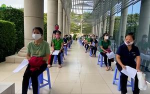5.000 công nhân Changshin xếp hàng đi tiêm vaccine