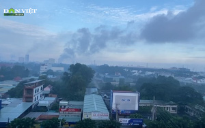Bà Rịa - Vũng Tàu: Doanh nghiệp xả khói đen kịt bầu trời khiến người dân lo lắng