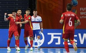 """Báo chí thế giới """"ngả mũ"""" trước màn trình diễn của ĐT futsal Việt Nam"""