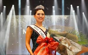 Nhan sắc xinh đẹp của tân Hoa hậu Hoàn vũ Nhật Bản 2021