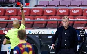 Barcelona khủng hoảng: HLV Ronald Koeman bị cấm chỉ đạo 2 trận
