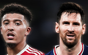 10 ngôi sao 0 bàn thắng, 0 kiến tạo từ đầu mùa 2021/22: Có Messi, Sancho