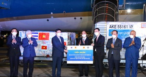 Việt Nam tiếp nhận 1,05 triệu liều vaccine Covid-19 Abdala của Cuba