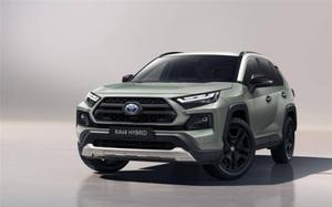 Toyota RAV4 Adventure 2022 chuẩn bị ra mắt, sở hữu ngoại hình hầm hố