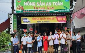 Ninh Bình có thêm một nơi bán toàn đặc sản dê núi, gà chạy bộ, rau quả an toàn