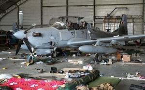 Cận cảnh dàn máy bay đắt đỏ bị Mỹ phá bỏ tại sân bay Kabul, Afghanistan