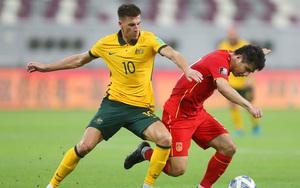Vòng loại World Cup 2022: Thua đậm Australia, Trung Quốc đứng dưới ĐT Việt Nam