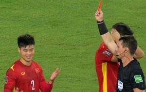 Trưởng ban trọng tài VFF lý giải tình huống Duy Mạnh bị thổi penalty và nhận thẻ đỏ