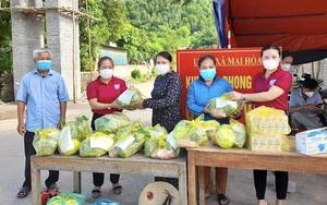 Quảng Bình: Nấu hàng nghìn suất cơm, ra đồng gặt lúa đưa về tận nhà giúp nông dân vùng phong toả