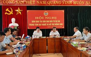 Trung ương Hội Nông dân Việt Nam: Bàn giao tài sản Trung tâm Dạy nghề và Hỗ trợ nông dân tỉnh Hoà Bình
