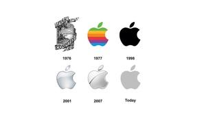 Logo Apple thay đổi ra sao qua các thời kỳ?