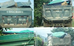 Đoàn xe Hưng Việt cơi nới thùng, nghênh ngang 'cày xéo' cung đường ở Bình Định