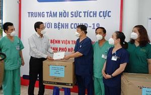 Cứu sống nhiều bệnh nhân Covid-19 nặng, trung tâm thuộc Bệnh viện T.Ư Huế được Chủ tịch TP.HCM đánh giá cao