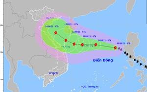 Bão Côn Sơn đã vào biển Đông, thành cơn bão số 5, có khả năng giật cấp 13