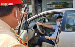 Vụ tài xế cố thủ trên xe bất chấp hiệu lệnh công an: Tài xế là thanh tra sở Tài nguyên và Môi trường