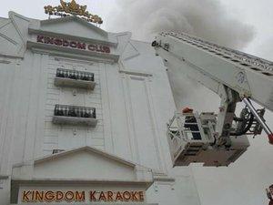 Clip: Cơ quan chức năng nói gì về vụ cháy Karaoke Kingdom ở Hà Tĩnh?