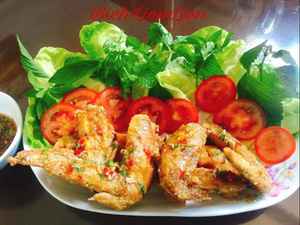 Cách làm cánh gà chiên sốt chua cay kiểu Thái cực tốn cơm ngày trở lạnh