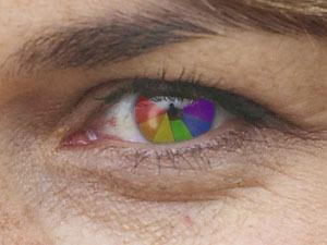 Phát hiện người phụ nữ có con mắt siêu nhân