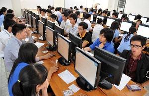Thi tuyển công chức trên máy tính: Chỉ 5% thí sinh đạt yêu cầu