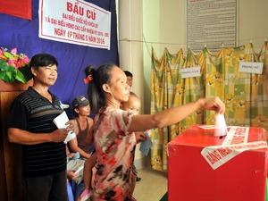 Kiên Giang: Tổ chức bầu cử lại ở 1 tổ bầu cử vì phát hiện sai phạm