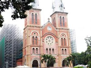 Hơn 140 tỷ đồng trùng tu Nhà thờ Đức Bà Sài Gòn