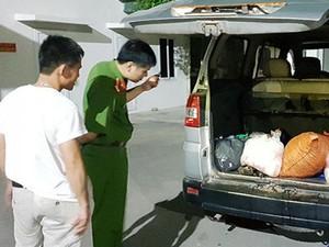 Vận chuyển nội tạng hôi thối từ Lạng Sơn về Quảng Ninh tiêu thụ