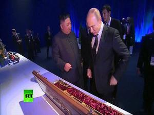 Màn tặng quà độc đáo của Putin-Kim và điểm nhấn thượng đỉnh Nga-Triều