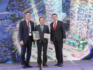 Phú Long được vinh danh tại giải thưởng khu vực châu Á - BCI Asia Top 10 Award