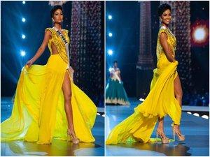 Chiếc váy vàng của H'Hen Niê đẹp nhất lịch sử Hoa hậu Hoàn vũ