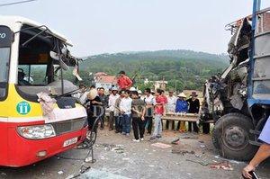 Sơn La: Tai nạn nghiêm trọng 1 người chết, 5 người trọng thương