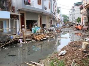 Dự án thoát nước nghìn tỷ ở Thủ đô lại xin... lùi