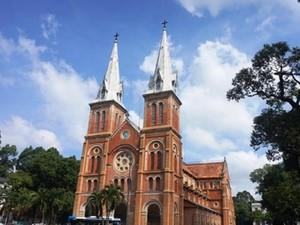 Video 2 hạng mục trùng tu chính ở nhà thờ Đức Bà Sài Gòn