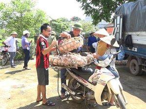 Hộ nghèo ở Ba Chẽ được trao lợn giống, hỗ trợ chăn nuôi