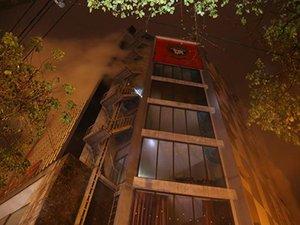 Cháy karaoke 9 tầng lớn nhất Quảng Trị, nhiều người tháo chạy