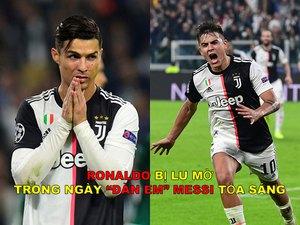 """Ảnh chế: Ronaldo bị lu mờ bởi """"đàn em"""" Messi tại cúp C1"""
