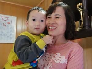 Mẹ Nguyễn Hoàng Đức: Sung sướng khi con ghi bàn, hy vọng sút tung lưới Singapore