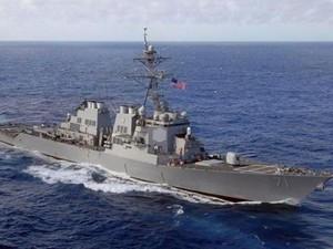 Nga tập trận tấn công chiến hạm Mỹ ở Biển Đen