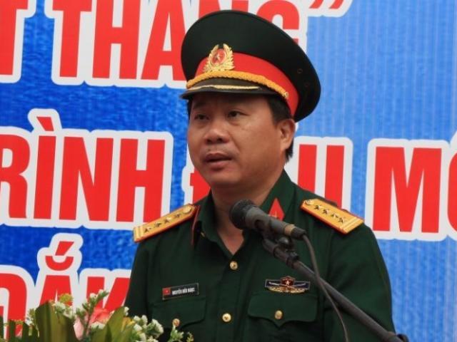 đại Ta Nguyễn Hữu Ngọc Lam Tư Lệnh Binh đoan 12 Bộ Quốc Phong