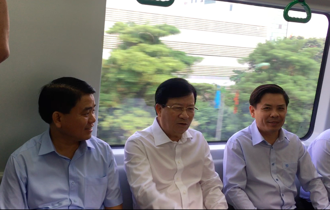 """Phó Thủ tướng: Đường Cát Linh - Hà Đông """"các ông hứa bao giờ làm xong""""?  - Ảnh 1."""