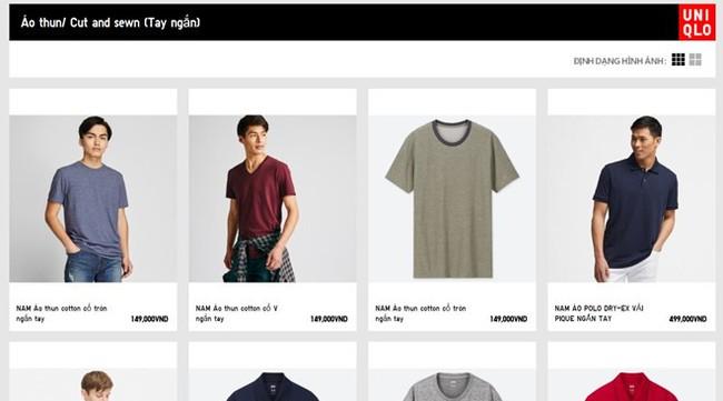 Chưa ra mắt cửa hàng, Uniqlo đã niêm yết giá bằng VND trên trang chủ - Ảnh 1.