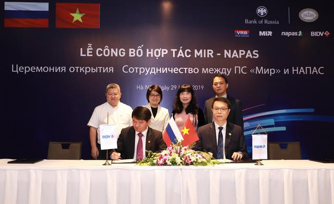 BIDV và NAPAS công bố triển khai dịch vụ kết nối với tổ chức thẻ nội địa Liên bang Nga NSPK - Ảnh 2.