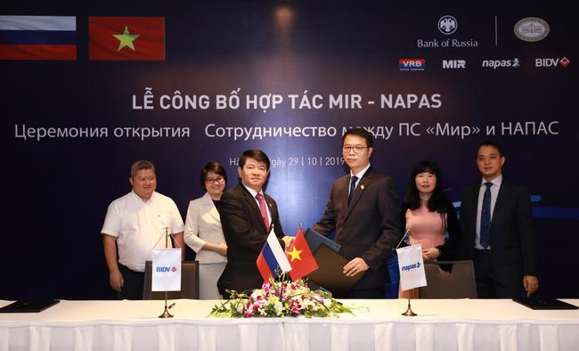 BIDV và NAPAS công bố triển khai dịch vụ kết nối với tổ chức thẻ nội địa Liên bang Nga NSPK - Ảnh 3.