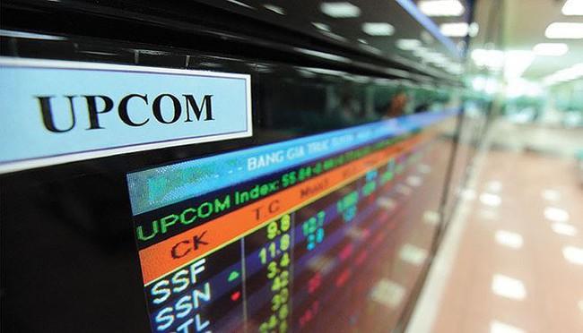 Hàng loạt cổ phiếu trên sàn UPCom bị sai giá tham chiếu trong phiên giao dịch sáng 31/10 - Ảnh 1.