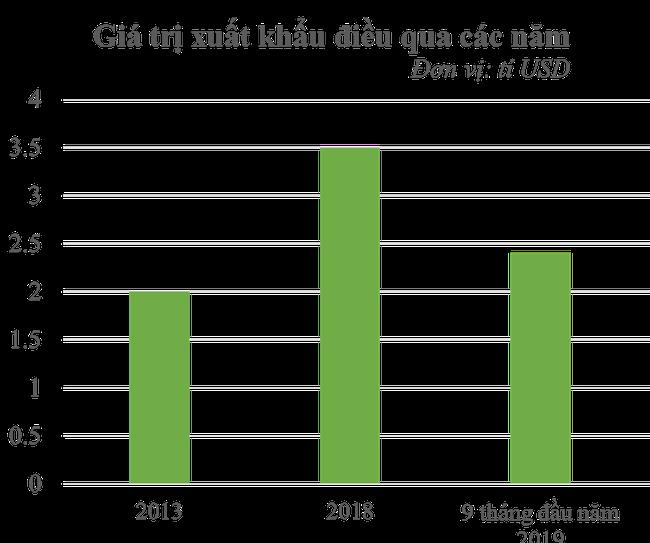 Xuất khẩu điều sang Trung Quốc vọt tăng mạnh 35% giữa căng thẳng Mỹ - Trung - Ảnh 1.